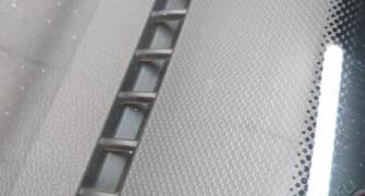 Ремонт скола лобового стекла на автомобиле SsangYong Actyon