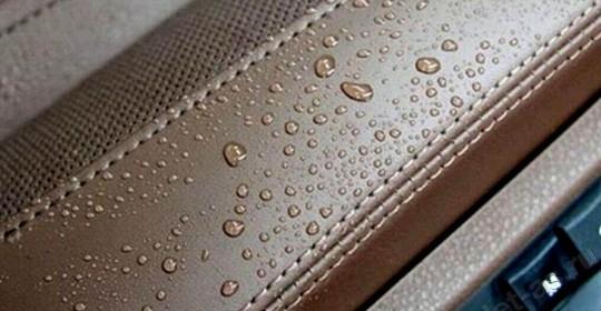 Защитные покрытия салона. Гидрофобная защита ткани и кожи.