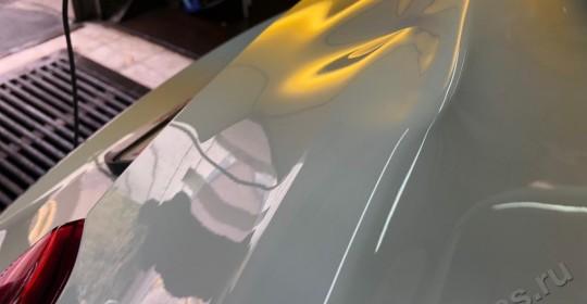 Ремонт вмятин без покраски на хундай