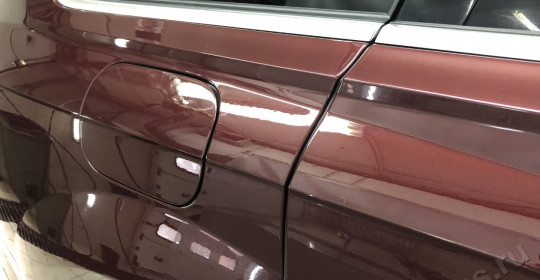 Полировка кузова Audi Q7 и нанесение керамики UltraOneTop