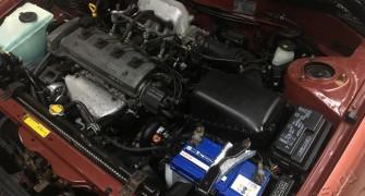 Мойка двигателя паром с консервацией Toyota Corolla