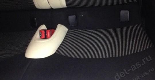 Химчистка сидений авто после