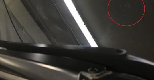 Ремонт скола лобового стекла на автомобиле BMW X5