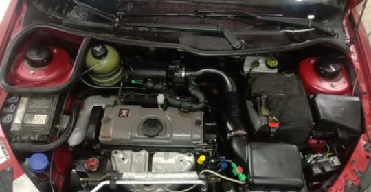 мойка двигателя Пежо