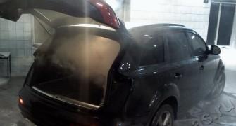Удаление запахов в автомобиле